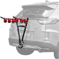 V Universal Tow Ball Mounted Bike Bicycle Carrier Car Rack For 3 Bikes Bicycle