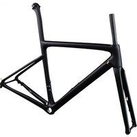 2019 new bicycle frame carbon T1000 road bike frameset disc brake with 142*12mm