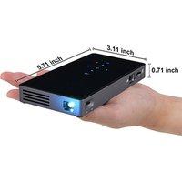 Portable Mini Proyector Pocket Size DLP LED P8I WIFI Wireless Mobile Mini Smart Projector