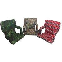Driftsun Reclining Stadium Seat Bleacher Chair with Back Support