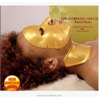 GMP and ISO22716 proved Purifying Anti-Wrinkle Antiaging Crystal Collagen 24K Gold Facial Mask