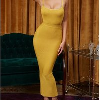 Top Quality Women Celebrity Cocktail Party Long Evening Bodycon Bandage  Dress