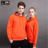 Free samples wholesale men and women thickened coat hoodie custom logo design a variety of colors can be selected
