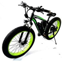 UK 1000W Motor Fat Tire Mountain Cruiser Bycicle/Bicycle El Suv Electric Bike