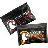 'Best Selling Cotton Bacon Pack Organic Cotton Fabric Vape Cotton For Electronic Cigarette