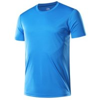 simple basic summer t shirt gym slim fitted muscle shirts mens running t-shirts