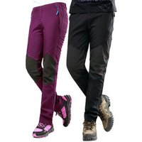 Mens Outdoor Soft Shell Pants Womens Waterproof Hiking Trousers Climbing Trousers Winter Thermal Sport Pants GL-0822
