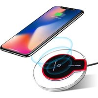 Fantasy Universal Portable Crystal Mobile Phone Qi Wireless Charger pad for iphone 8 plus X Xr Xs max for Samsung s8 S9 s10 +