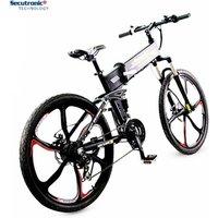 Ancheer 36V Battery Pack Drive Aluminium Folding Magnesium Alloy Wheel Mountain Road Electric Bike Feier