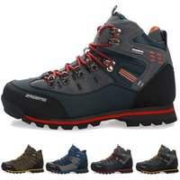 Fashion Mens Skid Resistance Hiking Shoes Waterproof Mountain Boots Climbing Shoes Plus Size Boots Trekking Running Shoes