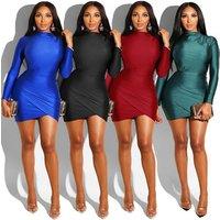 9040128 ladies fashion solid corset bandage bodycon mini sheath woman dresses