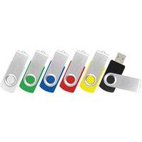 'Swivel Rotate Plastic Case 32mb 1gb 2gb 4gb 8gb 16gb 32gb Usb Memory Pendrive Stick Plastic Micro Usb Flash Stick