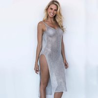 2019 New Style European Bikini Cover Up Sexy Woman Beach Dress Sexy Swimwear Bikini Beach Cover Up Sarong Beach Dress