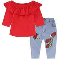 2019 fall  girls clothing baby clothes sets wholesale childrens boutique clothing