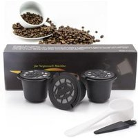High Quality Reusable Coffee Espresso Filter Coffee Pods 3-Pack Refillable Empty Coffee Capsule