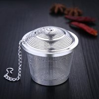 Stainless Steel Coffee Filter Tea Cup Strainer Tea Leaf Mesh Basket Infuser