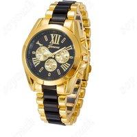 ST 019 Hot Luxury watches men fashion Geneva Quartz Steel Wrist Watch Relojes Mujer Cheap Dress Watch