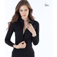 MYLEDI 2mm wetsuit jacket neoprene wetsuit top for women