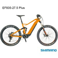 2020 newest 27.5+ New carbon Electric full suspension bike frame with Hidden Battery .EF835
