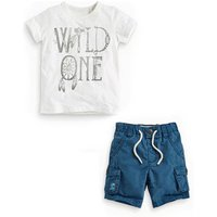 Baby boys wild one clothing pocket shorts outfit 2-7years kids casual wear boys wild one set