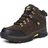 2019 shoes Factory Wholesale Suede Leather Couples Waterproof Outdoor Mountain Desert Ankle Climbing shoes Hiking Boots