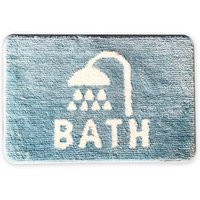 Non Slip Bathroom Mat Super Soft Microfiber Bath Mat  Bath Rugs Set Super Absorbent Thick