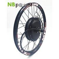 60v 72v 96v 5000W Electric Bike/Bicycle Hub Motor Electric Colorful  Wheel Hub Motor 5000W