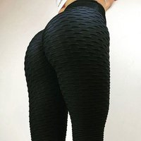 2018 Women High Waist Fitness Leggins Sexy Push Up Leggings Workout Clothing Breathable Casual Long Trousers Pure Color Leggings