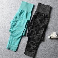 Ladies Workout Butt Lift Activewear Tummy Control Gym Fitness Seamless Scrunch Leggings