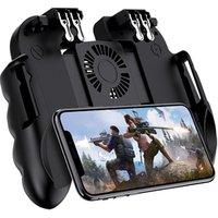 H9-2 For Pubg Wireless L1R1 Mobile Game Controller ,mobile gaming trigger , mobile phone game grip for PUBG