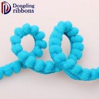 'Sewing Doll Accessory Cotton Braid Bobble Pom Pom Fringe Ball Lace Trim Ribbon