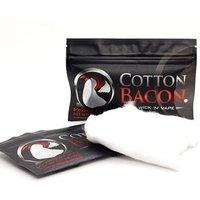 '2019 Hot Selling Wick N Vape Bacon Cotton Organic Cotton Bacon Vape For Electronic Cigarette
