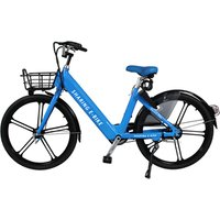 36v 350w smart lock and removable battery aluminum sharing electric bicycle e bike sharing