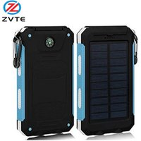 '2019 Best Selling Original Mini Solar Panel Power Bank With Led Torch 8000mah For Hiking Used