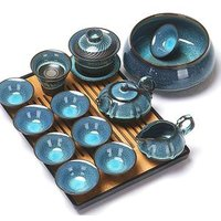 Built Zhancha Droplets Partridge Spot Light Tea Set Cup Ceramic Teapot Tureen Kung Fu Tea Set Package