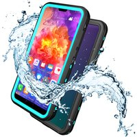 Military Hard Shockproof Plastic Mobile Cell Waterproof Phone Case For Iphone X 8 7 Samsung Galaxy S9 S8 S7 Edge Plus