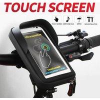 ZOLi 2112 Bicycle Accessories Waterproof Mobile Phone Carry Bag Mountain Bike Bag Bicycle Frame Travel Bag