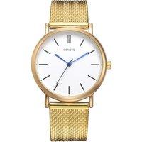 Luxury Gold Women Dress Quartz Watches Fashion Geneva Brand Ladies Sports Business Wrist Watch Relogio Reloj Mujer