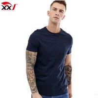 bulk clothing custom 200gsm t shirt fashion plain soft cotton jersey unisex fitted t shirts