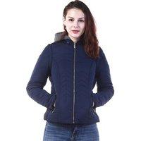 Fashion design wholesale winter lady quilted jacket women custom bomber padded jacket