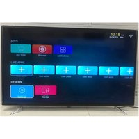 2019 Newest 65 inch Flat Screen 4K Android Smart LED TV with Double layer glass and Wall Mount