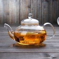 Blooming Flower Tea Set 600ml Glass Teapot / tea pot