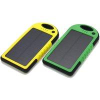 'Alibaba Best Seller Oem Outdoor Ip65 Waterproof 5000mah Slim Dual Usb Portable Solar Panel Charger Mobile Power Bank