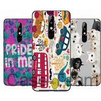 Mobile Phone Case for Nokia 5.1 Plus,  Free Shopping, Cartoon Flower Cover for Nokia 5.1 Plus  case