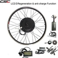 CSC Hot Sales 48V 1500W Electric bicycle eBike conversion Kit  Free Shipping to Russia Japan Indonesia Korea with option battery