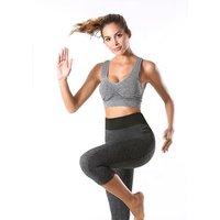 Sports capri legging womens Seamless  yoga pants  Ladies Causal Pants  Summer Short Pants