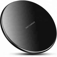 QC3.0 aluminum alloy wireless charge for iphonex 8 7 6 plus, qi wireless charger for samsung mobile phone s8 7 6 etc