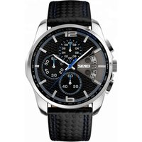 skmei 9106 japan movt  luxury men wrist watches  mens leather watch