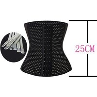 2019 Hot selling strong hooks waist trainer latex waist cincher, waist trainer corset, waist trainer dropship