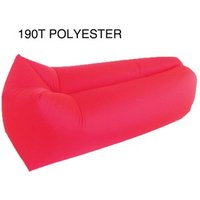 '190t Polyester Square Sleeping Bag, Bean Bag Air Lay Bed Bag, Outdoor Sun Inflatable Lounger
